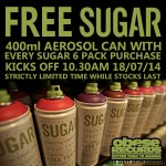 SUGAR aerosol paint OBESE DEAL