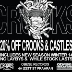 crooks and castles SALE